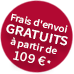 Free shipping from 109 euros (for France)